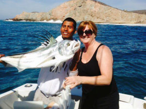 Roosterfish fished in Cabo San Lucas on 2/11/17