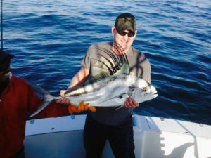 Roosterfish fished in Cabo San Lucas on 2/17/17