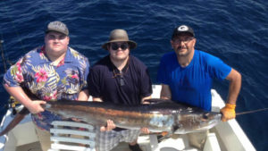 130 lb. STRIPED MARLIN fished in Cabo on 6/18/16