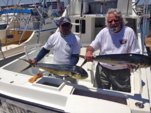 Two Yellowfin Tuna fished in Cabo on 6/7/16