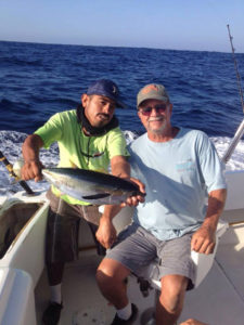 Yellowfin Tuna caught off the coast of Cabo San Lucas 7/01/16