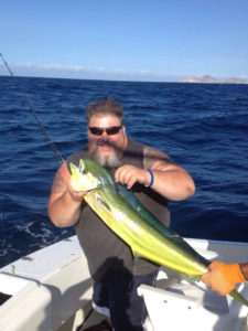 Dorado fished in Cabo San Lucas on 7/25/16