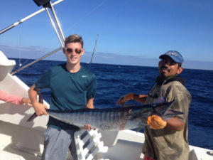 120 lb. Striped Marlin fished in Cabo San Lucas on 8/14/16