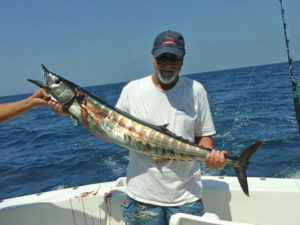 25 lb. WAHOO fished in Cabo on 9/11/16