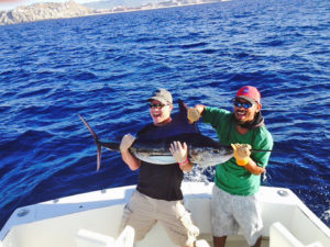 STRIPED MARLIN fished in Cabo on 11/06/16