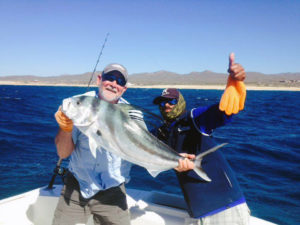 Roosterfish fished in Cabo San Lucas on 12/17/16