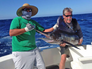Striped Marlin fished in Cabo San Lucas on 12/05/16