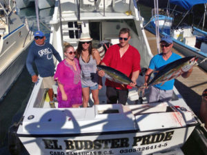 Yellowfin Tuna fished in Cabo San Lucas on 11/30/16