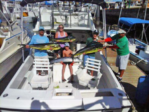 Dorado fished in Cabo San Lucas on 1/13/17