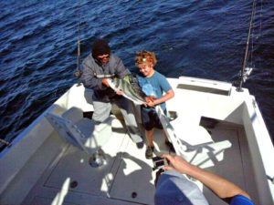 Roosterfish fished in Cabo San Lucas on 1/21/17