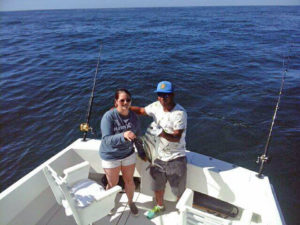 Roosterfish fished in Cabo San Lucas on 1/22/17