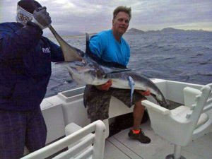 Striped Marlin fished in Cabo San Lucas on 1/26/17