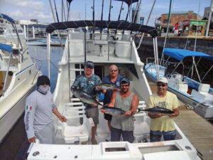 Yellowfin Tuna fished in Cabo San Lucas on 1/25/17
