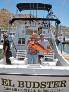 Red Snapper fished in Cabo San Lucas on 4/24/17