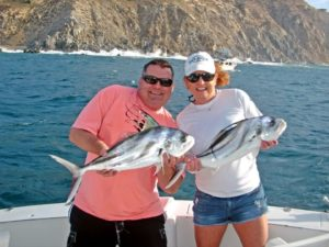 Roosterfish fished in Cabo San Lucas on 4/25/17