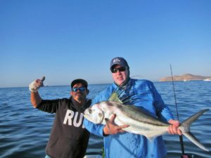 Roosterfish fished in Cabo San Lucas on 5/31/17