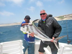 Roosterfish fished in Cabo San Lucas on 6/11/17