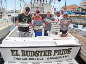 Yellowfin Tuna fished in Cabo San Lucas on 7/18/17