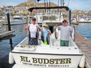 Yellowfin Tuna fished in Cabo San Lucas on 7/20/17