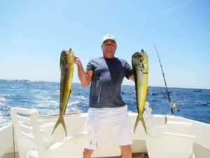 Dorado fished in Cabo San Lucas on 9/24/17