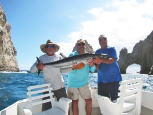 Wahoo fished in Cabo San Lucas on 9/27/17