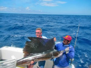Blue Marlin fished in Cabo San Lucas on 8/15/18