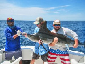 Striped Marlin fished in Cabo San Lucas on 8/10/18