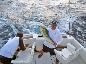 Dorado fished in Cabo San Lucas on 9/02/18