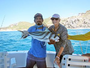Roosterfish fished in Cabo San Lucas on 09/03/18