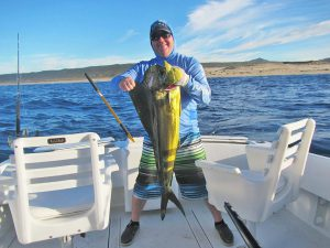Dorado fished in Cabo San Lucas on 11/23/18