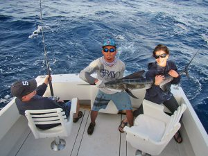 Striped Marlin fished in Cabo San Lucas on 11/25/18