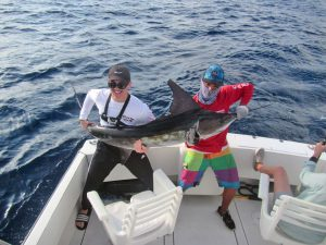 Striped Marlin fished in Cabo San Lucas on 11/26/18