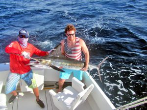 Striped Marlin fished in Cabo San Lucas on 1/02/19