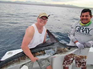 Striped Marlin fished in Cabo San Lucas on 1/14/19