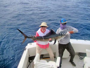 Striped Marlin fished in Cabo San Lucas on 1/25/19