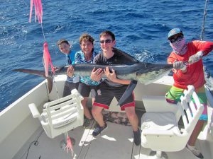 Striped Marlin fished in Cabo San Lucas on 1/27/19