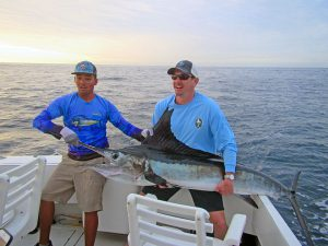 Striped Marlin fished in Cabo San Lucas on 2/13/19