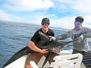 Striped Marlin fished in Cabo San Lucas on 2/27/19