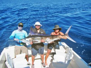 Striped Marlin fished in Cabo San Lucas on 3/02/19