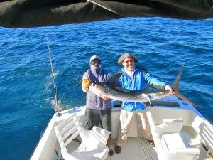 Striped Marlin fished in Cabo San Lucas on 3/05/19