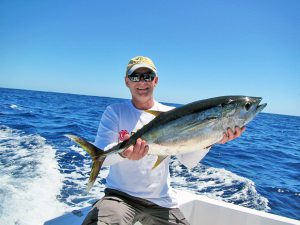Yellowfin Tuna fished in Cabo San Lucas on 3/23/19