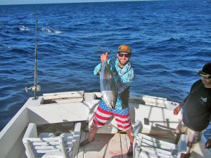 Yellowfin Tuna fished in Cabo San Lucas on 4/12/19