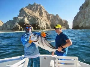 Roosterfish fished in Cabo San Lucas on 6/24/19