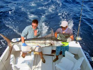 Blue Marlin fished in Cabo San Lucas on 7/28/19