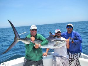 Striped Marlin fished in Cabo San Lucas on 7/15/19