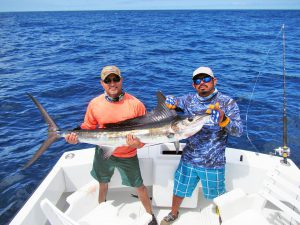 Striped Marlin fished in Cabo San Lucas on 7/25/19