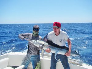 Striped Marlin fished in Cabo San Lucas on 9/04/19