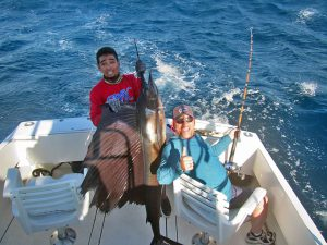 Striped Marlin fished in Cabo San Lucas on 9/27/19