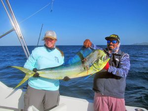 Dorado fished in Cabo San Lucas on 10/02/19