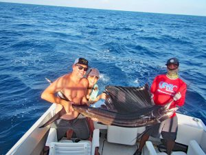 Pacific Sailfish fished in Cabo San Lucas on 10/17/19